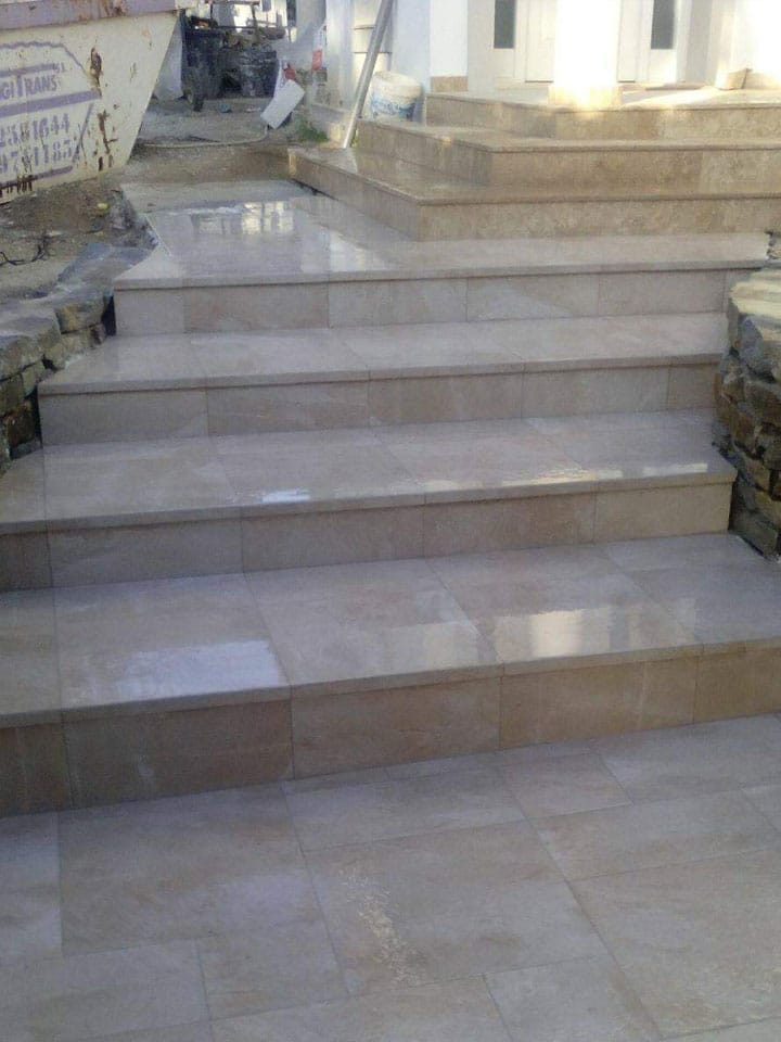 Contruccion de escalera y soleria