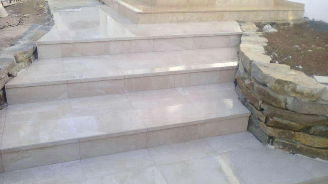 Construccion escalera y soleria